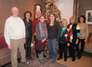 FOFH-IL Crew Conducts 2013 Annual Holiday Celebration at Hines VA Fisher House